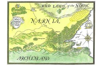 Narnia Maps: Prince Caspian